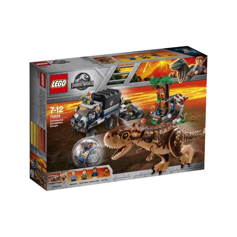 Carnotaurus Gyrosphere Escape
