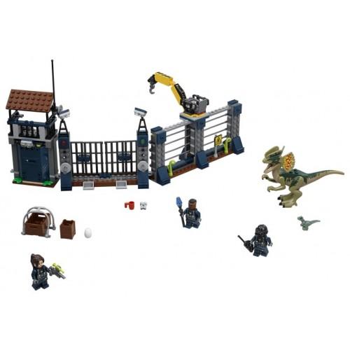 Dilophosaurus Outpost Attack