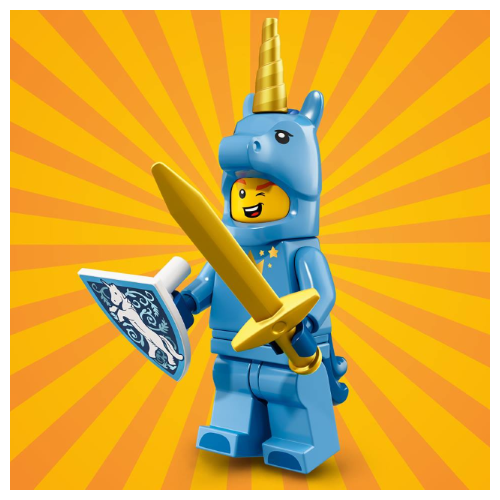 Lego Brick Suit Guy