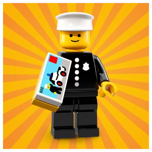 Lego Brick Suit Guy