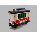 LEGO Holiday Train 10254 Custom Passenger Carriage
