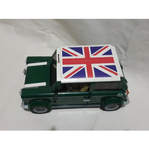 LEGO 10242 Mini Cooper Custom Printed Roof
