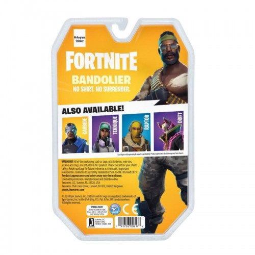 Fortnite Solo Mode Bandolier Figure