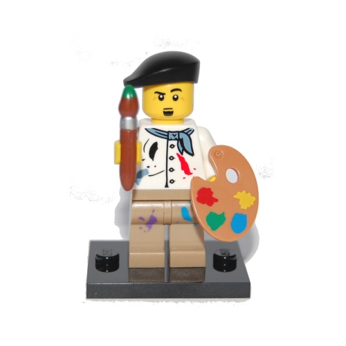 Artist - LEGO Series 4 Collectible Minifigure