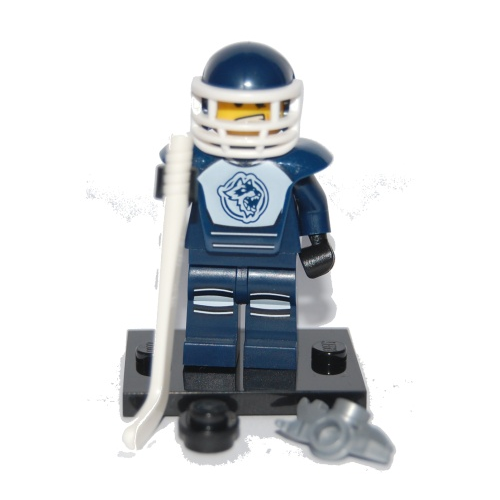 Hockey Player - LEGO Series 4 Collectible Minifigure