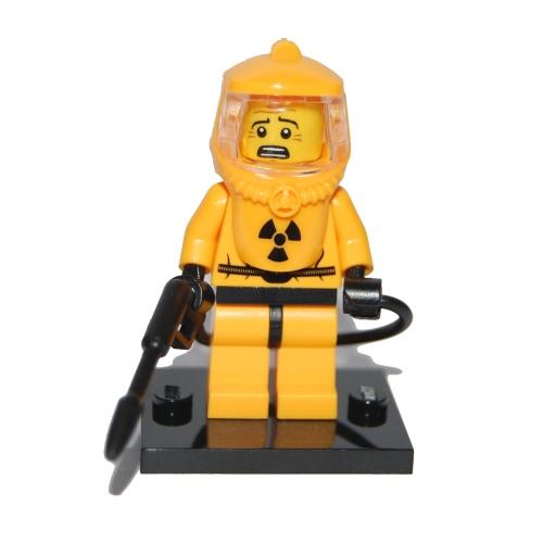 Hazmat Guy - LEGO Series 4 Collectible Minifigure