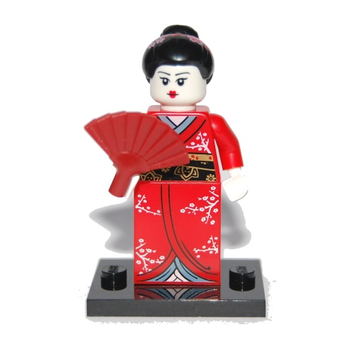 Kimono Girl - LEGO Series 4 Collectible Minifigure