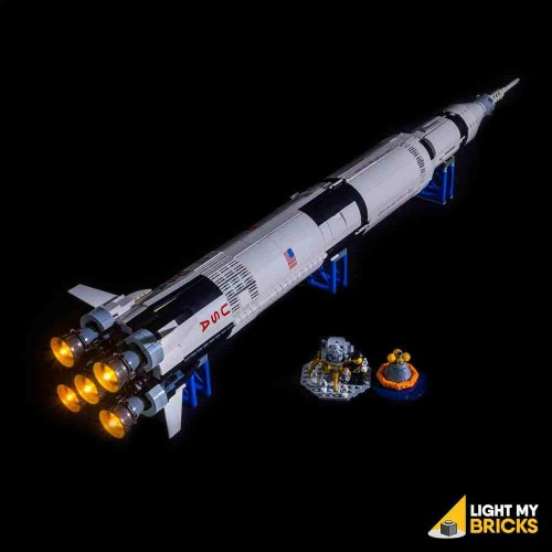LEGO IDEAS Saturn V 21309 Light Kit