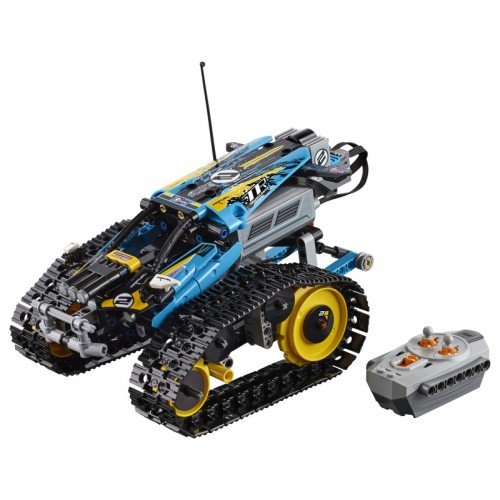Remote-Controlled Stunt Race