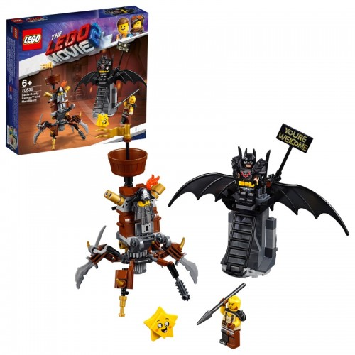 Battle Ready Batman and Metalbeard