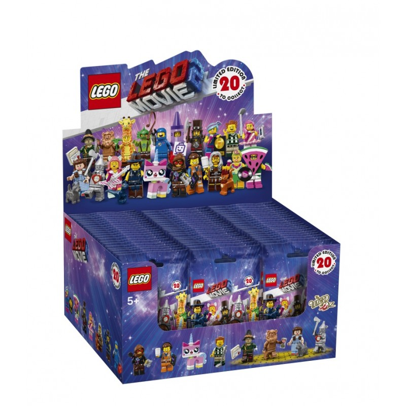 THE LEGO® MOVIE 2 Collectible Minifigures - Complete Box