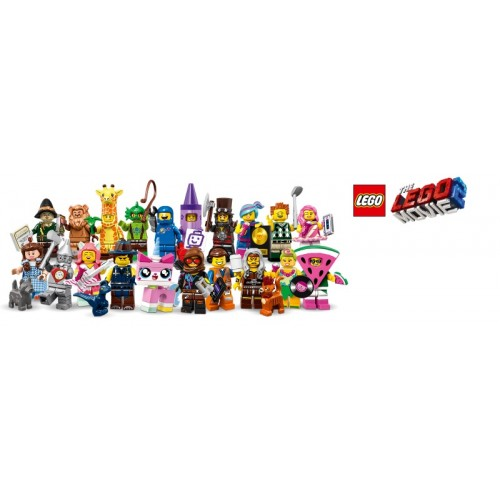 THE LEGO® MOVIE 2 Collectible Minifigures - Complete Set of 20