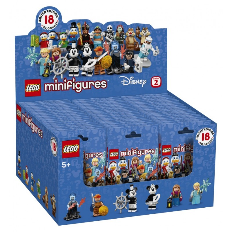 LEGO® Disney Minifigure Series 2 Sealed Box of 60