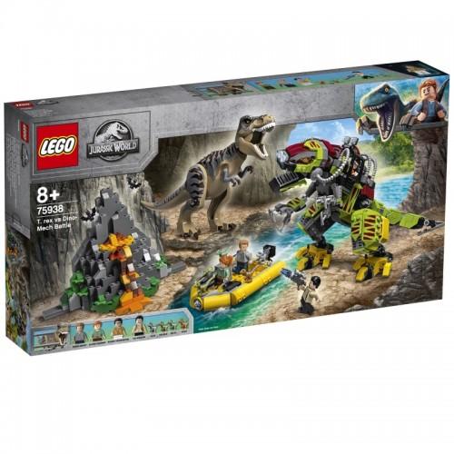 T. rex vs Dino-Mech Battle