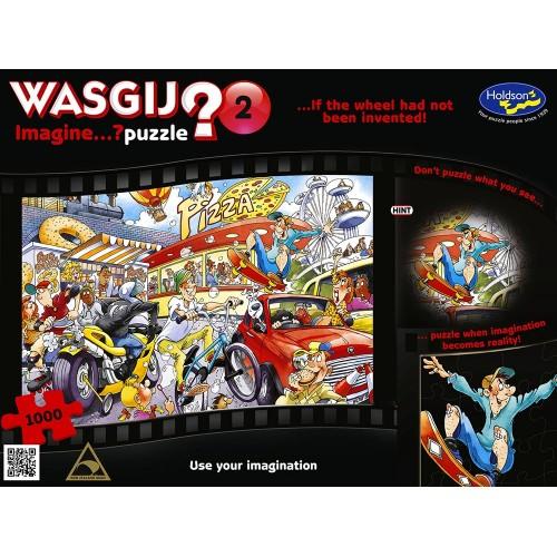 WASGIJ? IMAGINE 2 IF THE WHEEL