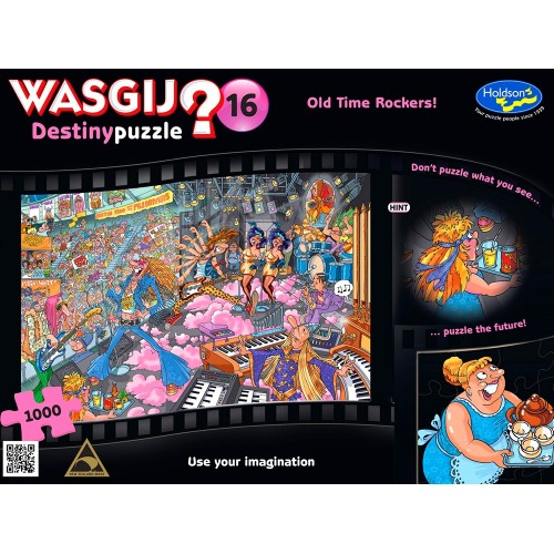 WASGIJ? DESTINY 16 OLD TIME ROCKERS!