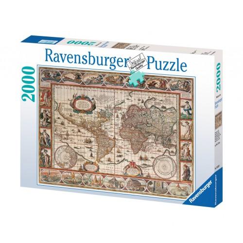 Ravensburger - 1650 World Map 2000pcs
