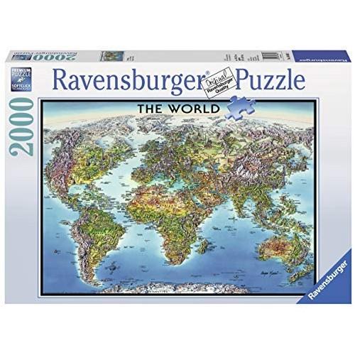 Ravensburger - World Map 2000 pcs