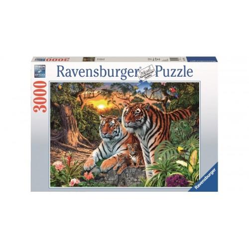 Ravensburger -Hidden Tigers 3000 pcs