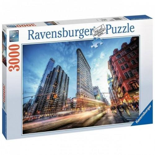 Ravensburger -  Flat Iron Building 3000 pcs