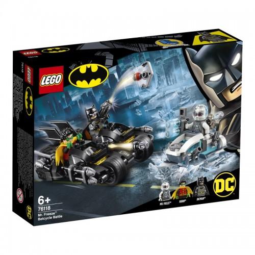 Mr Freeze Batcycle Battle