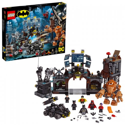 Batcave Clayface Invasion