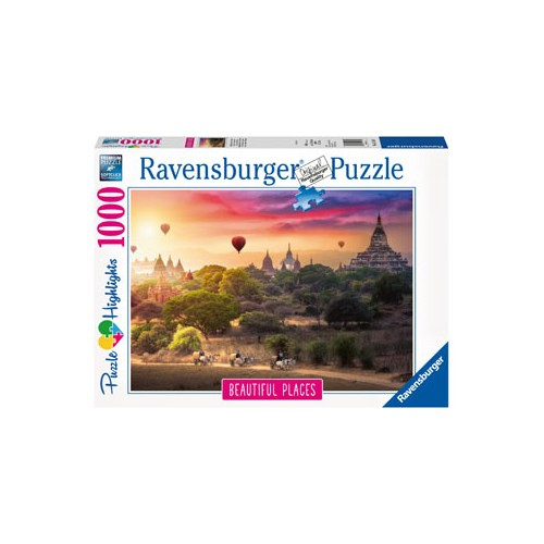 Ravensburger - Hot Air Balloons over Myanmar 1000pc