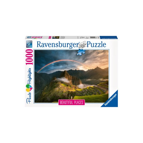 Ravensburger - Rainbow over Machu Picchu Peru 1000pc