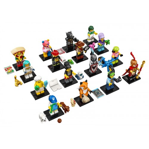 LEGO Series 19 minifigures - complete set of 16