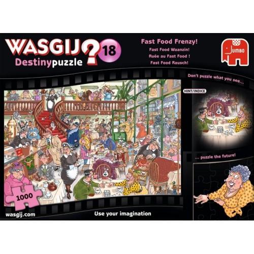 WASGIJ? Destiny 18 Fast Food Frenzy!