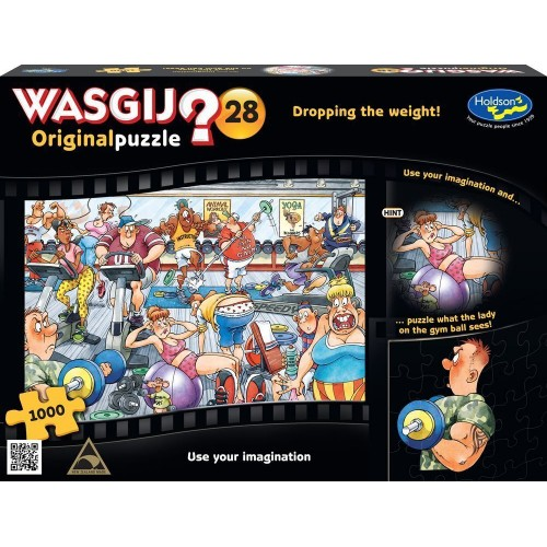 WASGIJ? Original 28 Dropping the Weight