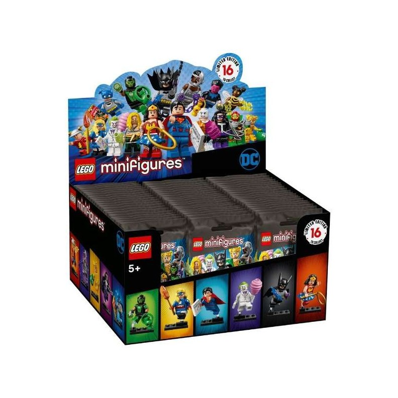 LEGO DC Super Heroes Collectible Minifigures - Box of 60