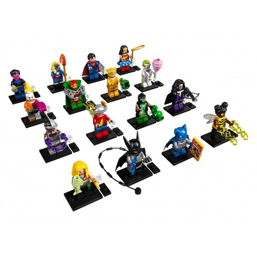 LEGO DC Super Heroes Minifigures - Complete set of 16