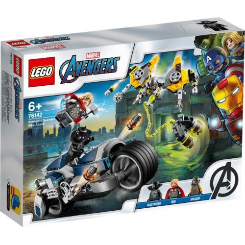Avengers Speeder Bike Attack