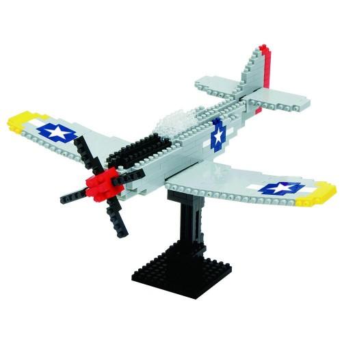 Nanoblocks P-51 Mustang