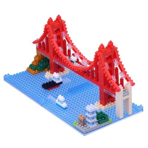 Nanoblocks Gold Gate Bridge