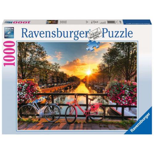 Ravensburger - Evening in Santorini Puzzle 1000pc
