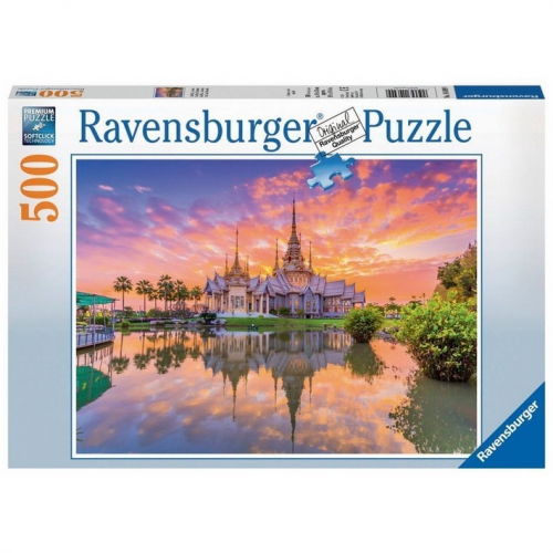 Ravensburger - Wat Thai, Thailand 500pc Jigsaw 146499