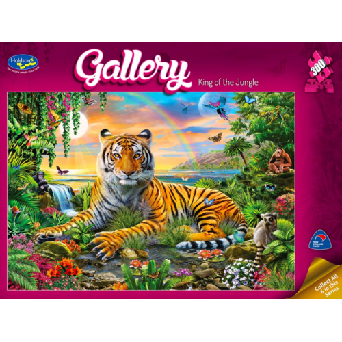 King of the jungle 300 pieces 77008