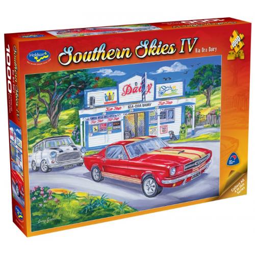 Southern Skies IV, Kia Ora Dairy 1000 pieces 77016