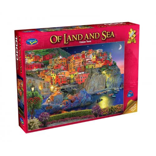 Of Land and Sea, Cinque Terre 1000 pieces 77041