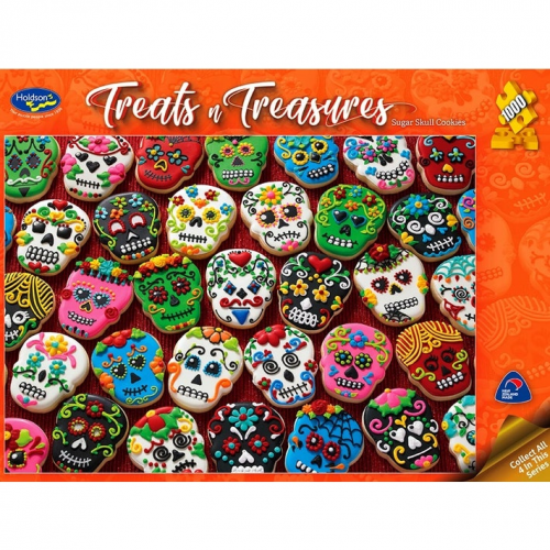 Treats and Treasures, Sugar Skull Cookies 1000 pieces 77093