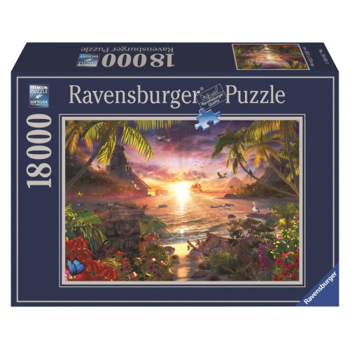 Ravensburger Heavenly Sunset Puzzle 18000pc 17824