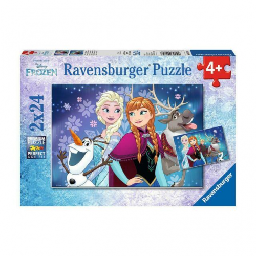 Ravensburger - Journey into the Unknown puzzle 2 x12pc
