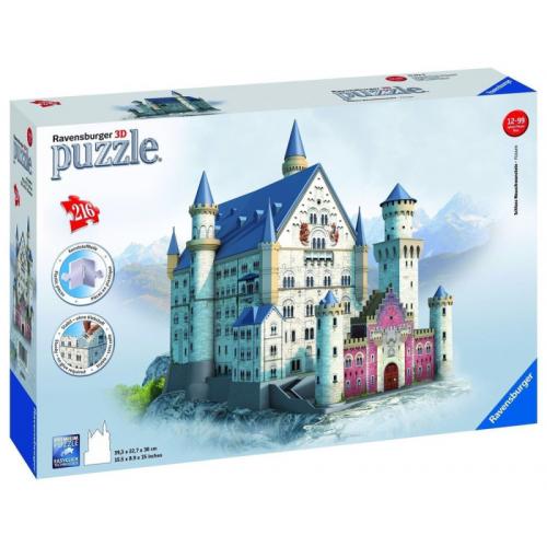 Schloss Newschwanstein 3D 216pc