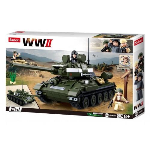 WW2 Tank T34