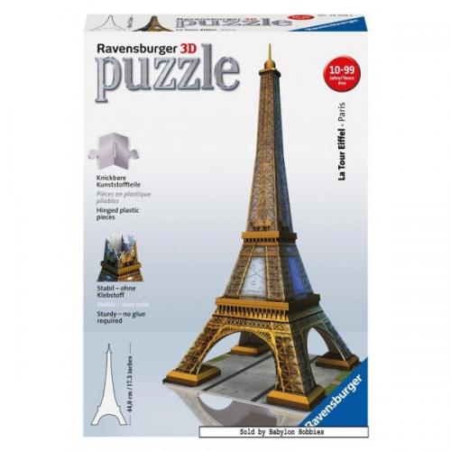 La Tour Eiffel 3D Puzzle 216pc