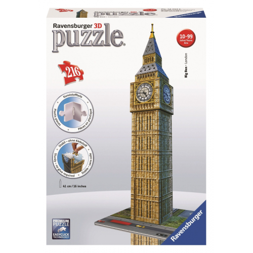 Big Ben 3D Puzzle 216pc