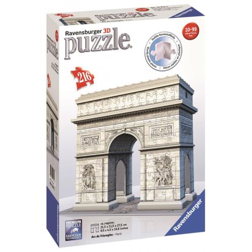 Arc de Triomphe 3D Puzzle 216pc