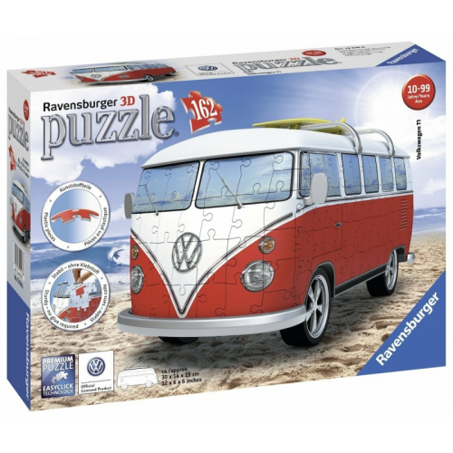 Volkswagen T1 3D Puzzle 162pc